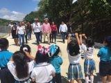 Inauguran en San Fernando la  calle Walter Hernández González