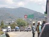 Sujeto logró evadir un bloqueo carretero en el tramo Comitán–Teopisca